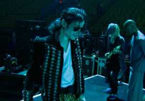 Michael en los ensayos de this is it!!!!